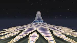 Minecraft Modern SuperCity Ep2 Crystal Island Project
