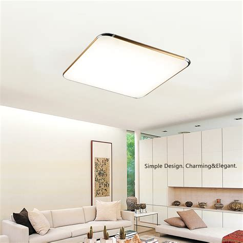 Living Room Lcd Panels by Dimmable 24 30w Led Ceiling Light Panel L Bedroom Study