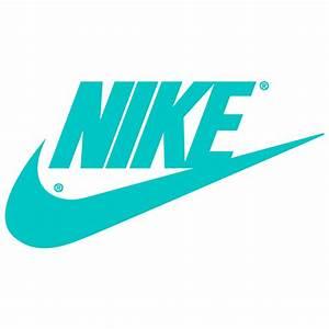 Nike Logo Blue Color Wallpaper | WallpaperMine.com