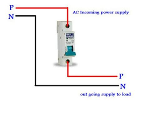 single pole mcb wiring  urduhindi electrical tutorials