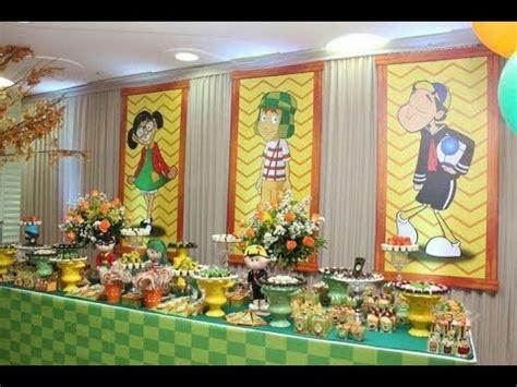 chavo ocho 8 2017 mesa de dulces ideas decoracion fiestas infantiles youtube