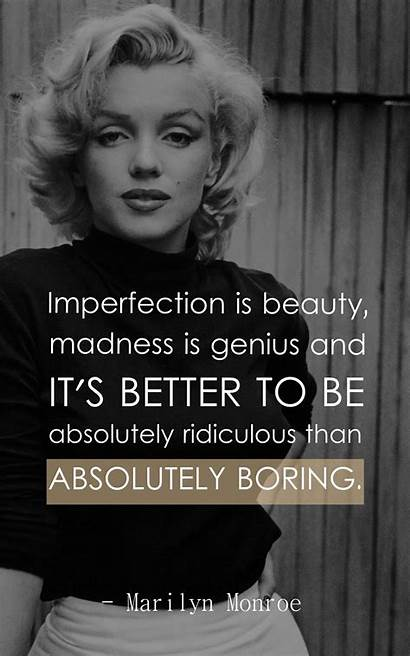 Monroe Marilyn Quotes Inspirational Woman Affairs Think