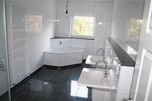 Fliesen Bad Weiß : bad fliesen ideen schwarz wei ~ Markanthonyermac.com Haus und Dekorationen