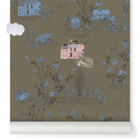 papier peint magn 233 tique woodland et aimants vert kaki