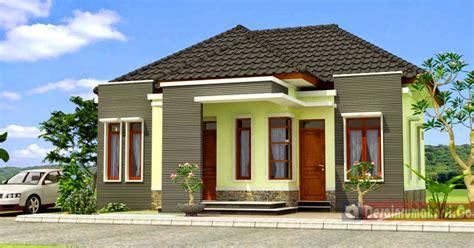 gambar model rumah leter  sederhana contoh