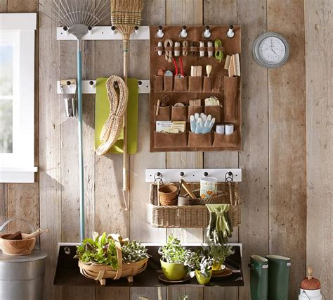 The Organized Life: Garden Shed Storage System from ...