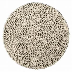 Tapis Blanc Rond : tapis rond d 39 herbier marin naturel 200cm bloomingville petite lily interiors ~ Dallasstarsshop.com Idées de Décoration