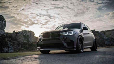 X5 M Hd Picture by All Black Bmw X5 M Wearing Z Performance Wheels Breaths