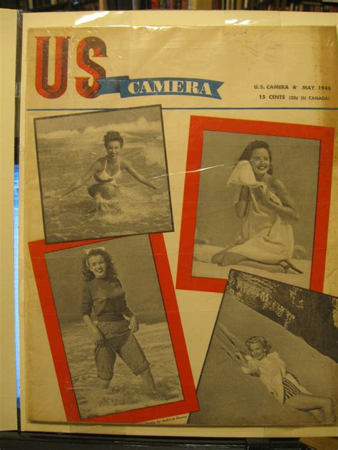 Us Camera Magazine, May 1946 (early Marilyn Monroe Cover