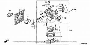 Honda Engines Gxv340ut2 Dne4 Engine  Tha  Vin  Gjact