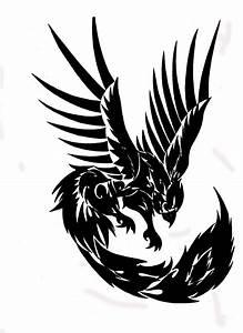 Tribal Phoenix by Toxiconus on DeviantArt