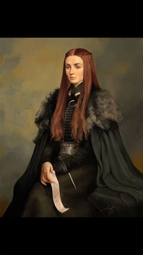 lady sansa  house stark lady  winterfell
