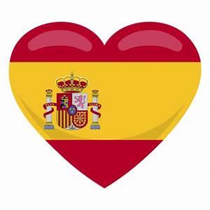 Spain heart flag - Transparent PNG & SVG vector