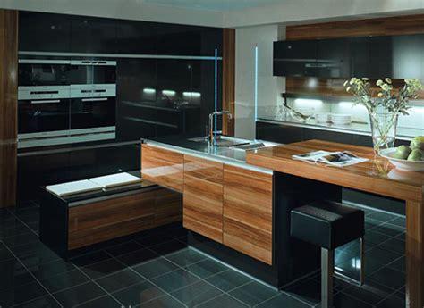 Cuisine design bois massif