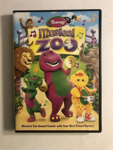 Pretend along with barney that you are one of the biggest animals in the jungle, and. Barney: Musical Zoo (DVD, 2011) for sale online | eBay