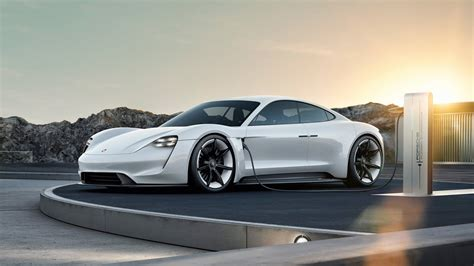 porsche mission   energy electric vehicle preview