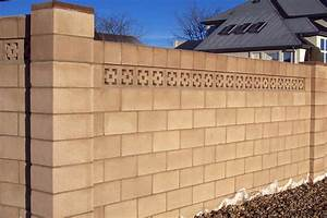 Cinder Block Wall Design