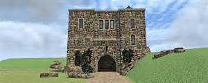 Scottish Castle House Plans Ideas by Chinook Castle Plan Tyree House Plans