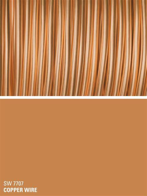 sherwin williams orange paint color copper wire sw 7707 all about orange orange paint
