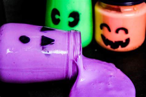 halloween glow   dark slime favecraftscom