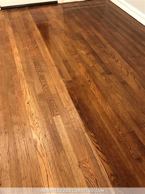 hardwood color the hardwood floor refinishing adventure continues tip for getting a gorgeous finish