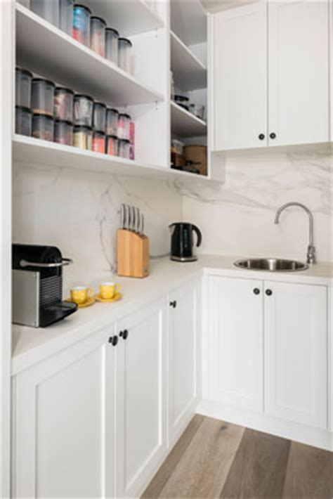 butlers pantry     kitchen necessity smith