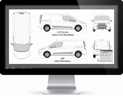Templates Vehicle Wrap Vinyl Graphics Guide Fall