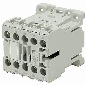 120 Vac 16 Amp 4 Pole Contactor Sc Sc09aa