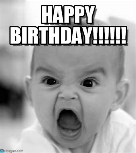 Man Baby Meme - 20 funny birthday quotes cutest cats