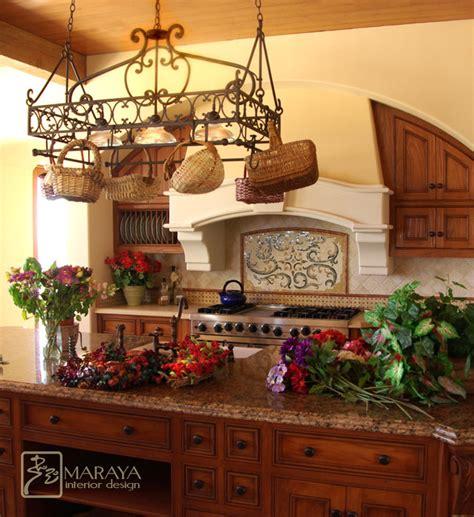 tuscan hood farmhouse kitchen santa barbara  maraya interior design