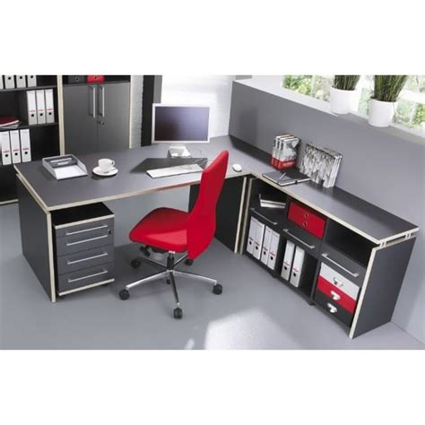 ensemble bureau meuble de rangement et caisson achat