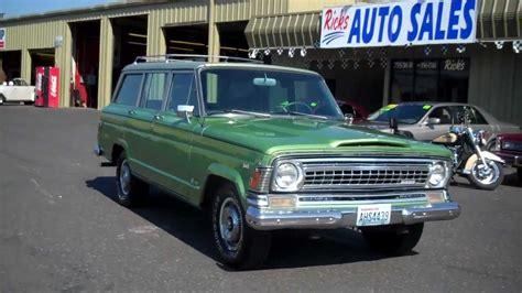 1970 jeep wagoneer 1970 jeep wagoneer 4x4 sold youtube