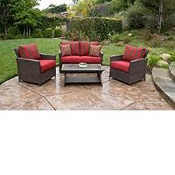 amazon com patio furniture all weather wicker outdoor