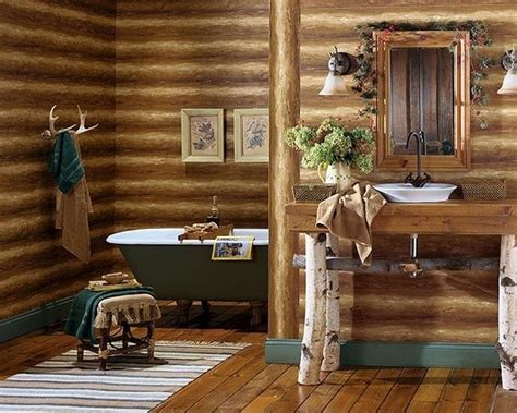 Rustic Bathroom Rug Sets by Log Cabin Decor Ideas Log House Home Decorations And