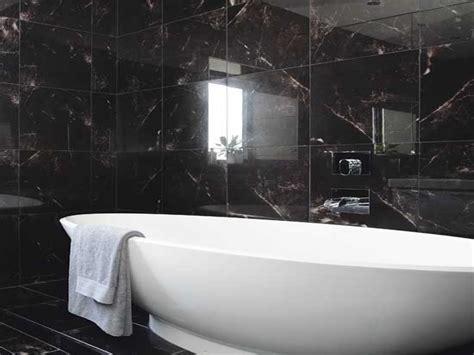 Schwarze Fliesen Bad by Black Bathrooms Black Tile Bathroom Ideas Small Bathroom
