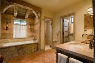 rustic country bathroom ideas hill country retreat