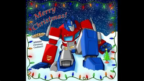 a transformers christmas youtube