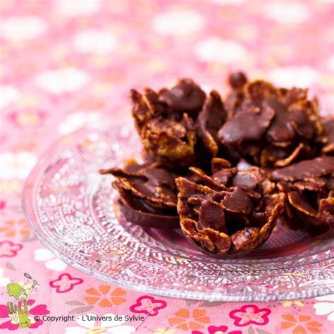 roses des sables au chocolat et aux amandes l univers de sylvie l univers de sylvie