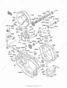 Kawasaki Motorcycle 2002 Oem Parts Diagram For Engine