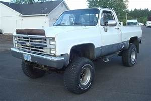 1984 Chevy Silverado 1500 Short Box  4x4  Lifted On 35 Inch Tires Amazing Metal  For Sale