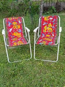 Chaise Enfant Vintage : chaise pliante de camping pour enfant chaise de camping vintage ~ Teatrodelosmanantiales.com Idées de Décoration