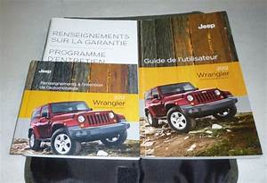 2012 Jeep Wrangler User Owners Manual Set Dvd 12 French