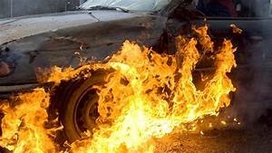 Man dies in car fire after accident