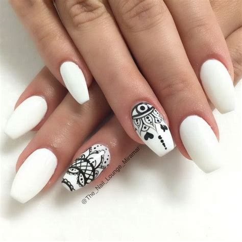 and white nail designs 30 stylish black white nail designs for creative juice