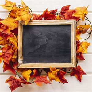 Feuille D Ardoise : d coration d 39 automne avec ardoise sur les feuilles d 39 automne t l charger des photos gratuitement ~ Dallasstarsshop.com Idées de Décoration