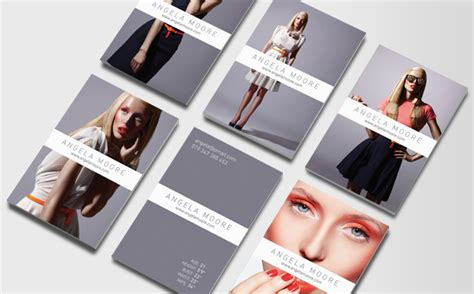 model business cards