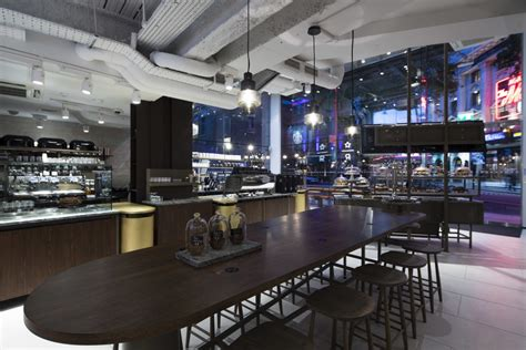 interior design for kitchen and dining starbucks offers quot theatrical quot dining with interiors