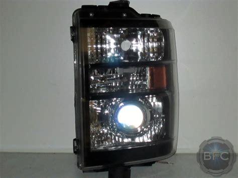 van headlights ford e350 hid projector blackflamecustoms