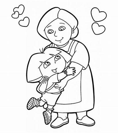 Coloring Pages Grandma Printable Happy Momjunction Helpers