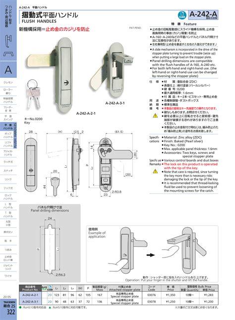 flush handles flush handles faa takigen manufacturing   industries world wide